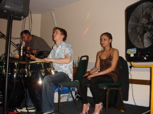 Jack McCarthy on Congas (and who's that beautiful girl?)