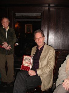 Rob was signing copies of his new De Quincey biography