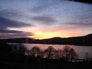 Brantwood sunset