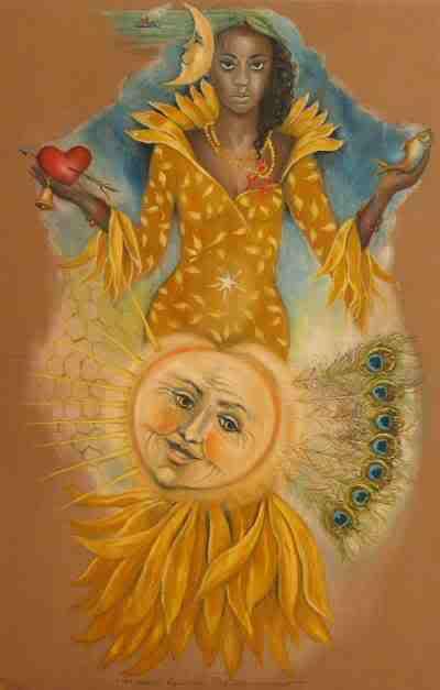Ochun, Goddess of the Copper Moon - Grevel Lindop