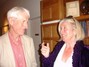With poet and novelist Angela Locke: together we are setting up Lakeland Writing Retreats